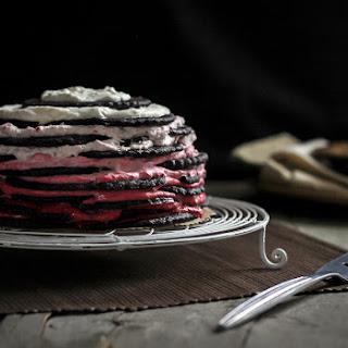 Chocolate-Raspberry Icebox Cake