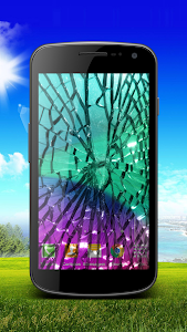Broken Cracked Screen - Prank screenshot 0