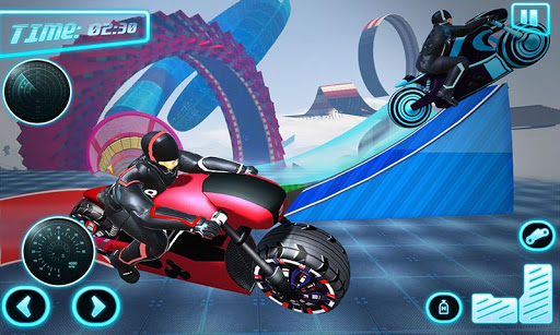 Light Bike Stunt Racing: Motor Bike Racing Games 10 screenshots 1