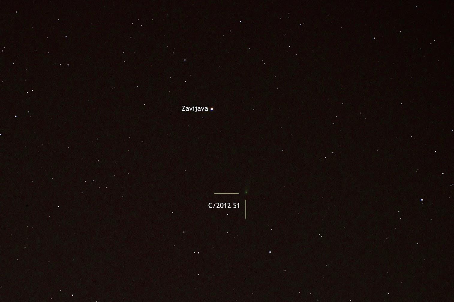 Comet ISON (C/2012 S1) on November 8, 2013