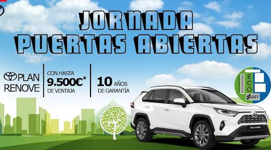 Últimos días de la jornada de puertas abiertas en Toyota Almería