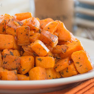 Skillet Sweet Potatoes.