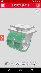 Caster CAD 3D- screenshot thumbnail