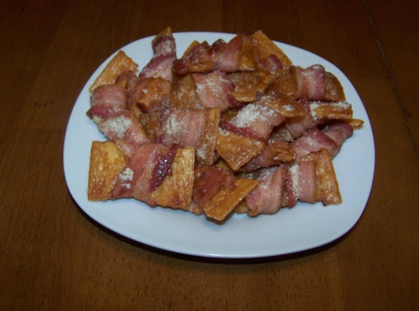 Bow-ties (bacon Wrapped Crackers) Recipe