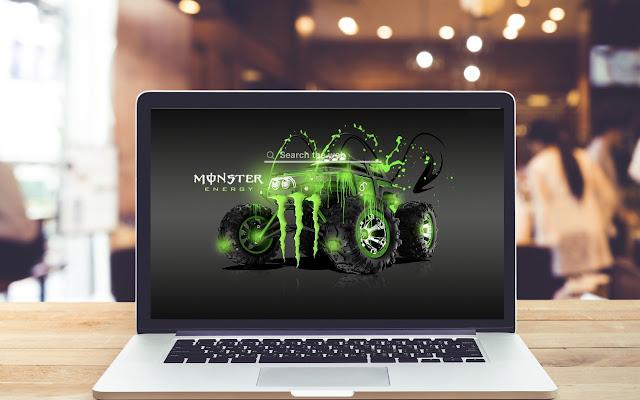 Monster Energy Wallpaper Background Theme
