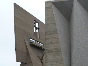 Photo: Marcel Breuer's iconic bell banner.