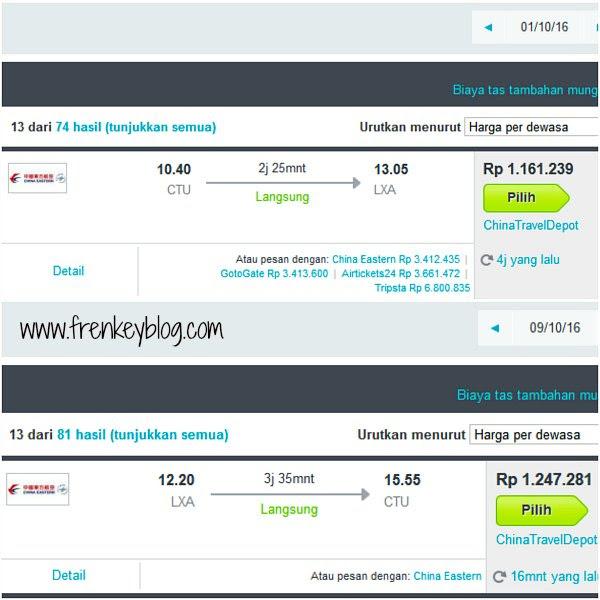 Harga Tiket Pesawat ke Tibet