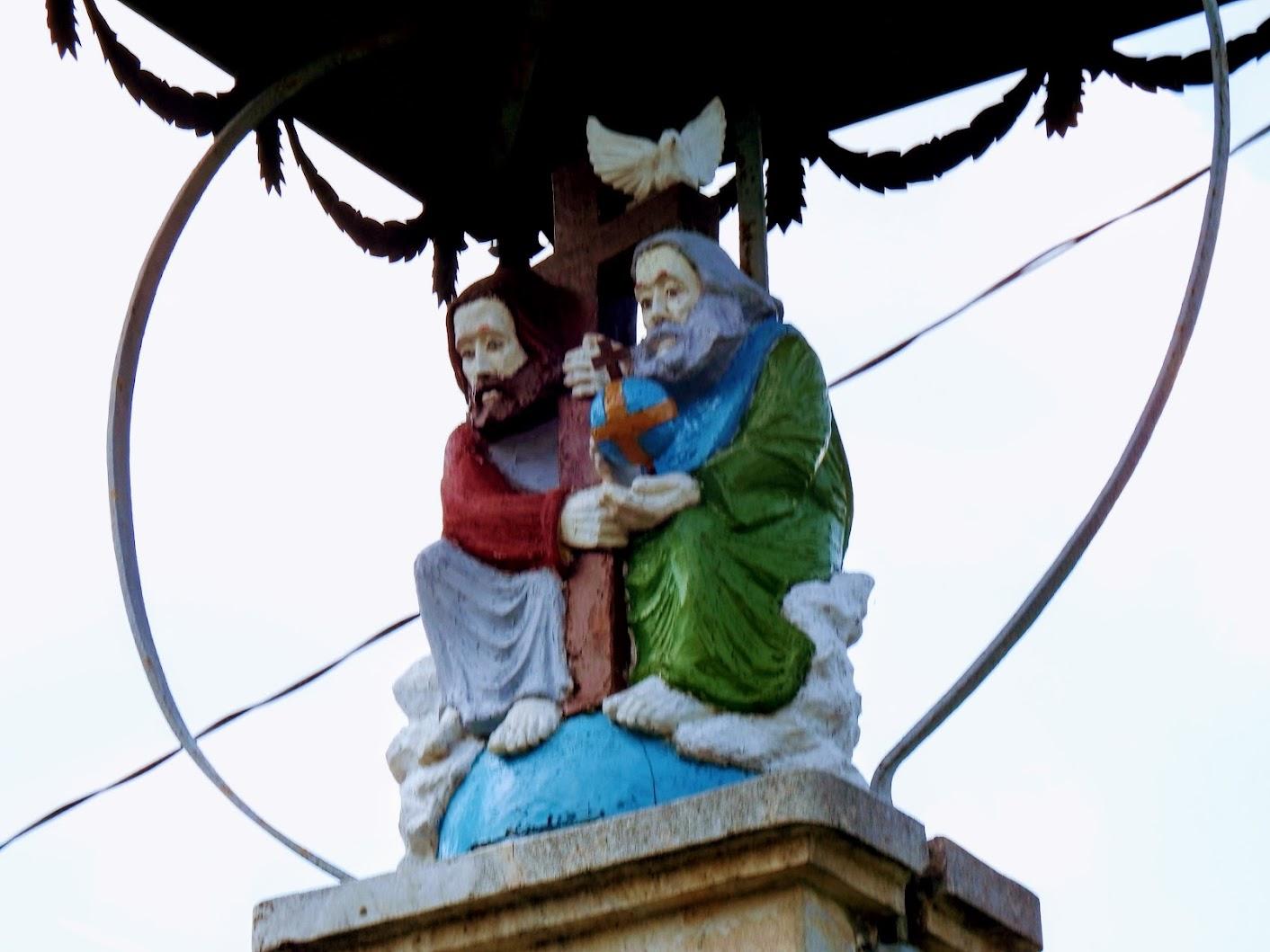 Berkenye - Szentháromság-szobor