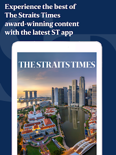 The Straits Times for Tablet - náhled