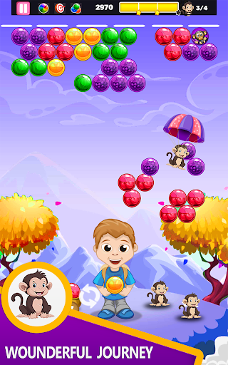 Code Triche bubble shooter 2020 New Game 2020- Free Games APK MOD (Astuce) screenshots 1