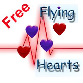 Free Летающие сердечки