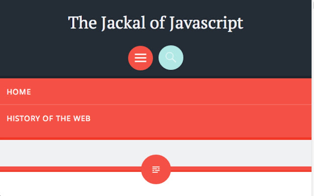 The Jackal of Javascript