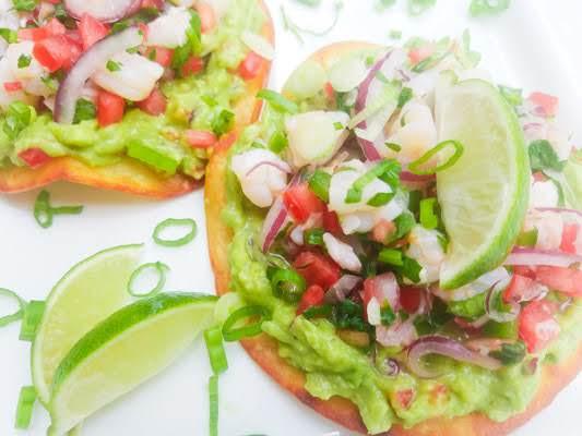 Shrimp Ceviche Tostadas Recipe