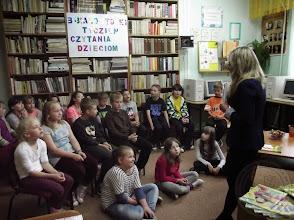Photo: Spotkanie z poetką (w ramach Białostockiego Tygodnia Czytania Dzieciom) (2.06.2014)