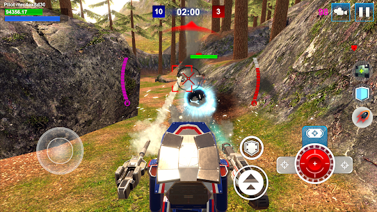 Mech Wars: Multiplayer Robots Battle Apk Download For Android and Iphone Mod Apk 4