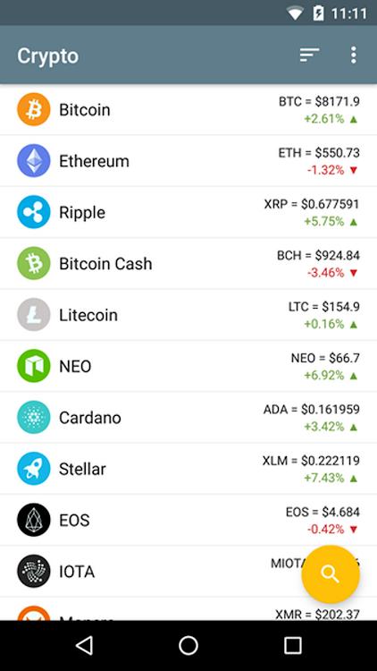 Cryptocurrencies Market Prices - According To ...