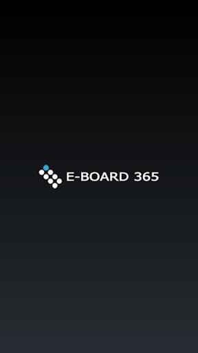 E-BOARD 365 Control Panel