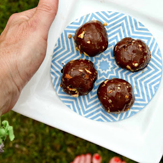 Hazelnut Pecan Protein Fudge Balls