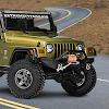 désert jeep 4x4 tout-terrain dérive 3d