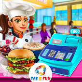 Fun Cafe-Fast Food Serving Restaurant Cooking Game