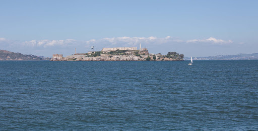 Alcatraz-Island - Alcatraz Island as seen from Fort Mason, San Francisco.