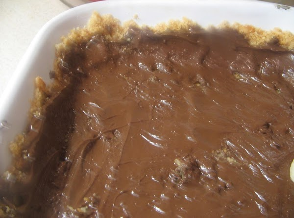 Microwave the chocolate chips and 2 tablespoons of butter in 30 second interval, stirring...
