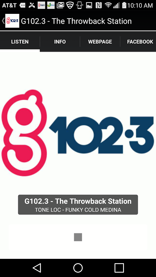 G102.3 - The Throwback Station- screenshot