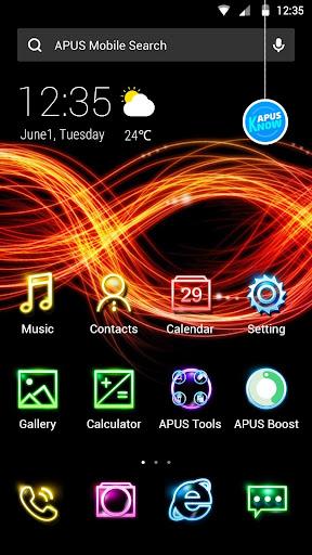 Neonnn theme for APUS