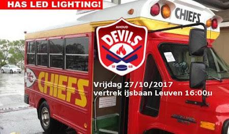 Nijmegen - Chiefs Leuven: vrijdag 27/10/2017