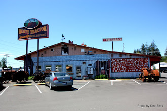 Photo: (Year 2) Day 342 - Rusty Tractor Restaurant We Passed Today