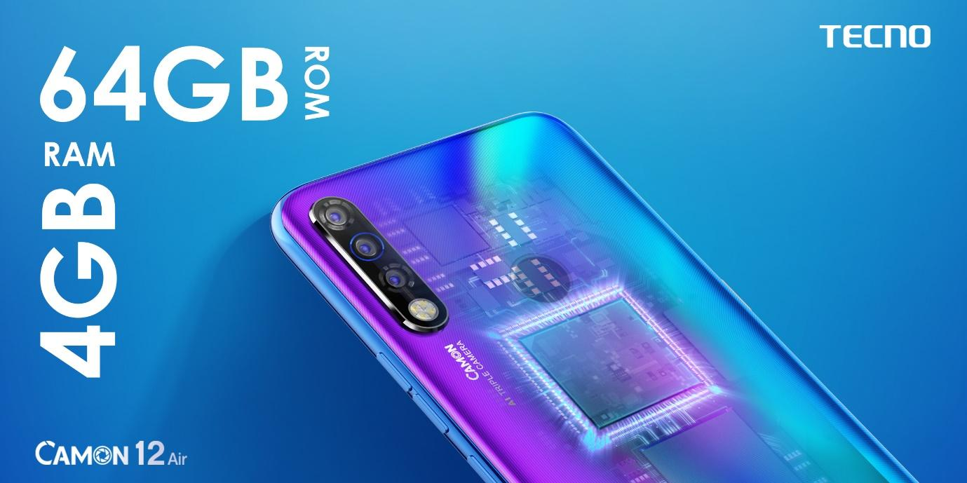 F:\Article Banners\64GB-ROM-4GB-RAM - Camon 12 Air Article Banner.jpg