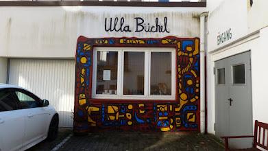 Photo: KunstRahmen; Ulla Büchel, Hilde Stork, Anna Hübsch (2011) Luthersche Höfe; Martin-Luther-Straße 11
