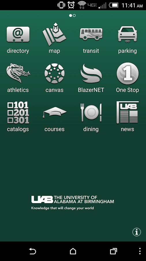 UAB- screenshot