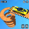 Mega Ramp Spiral Car Stunt Racing Games icon