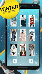 Winter Dress Photo Montage screenshot 3