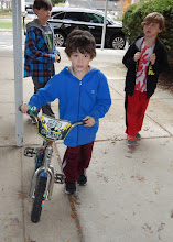 Photo: All three boys used this bike before passing it on to Panama