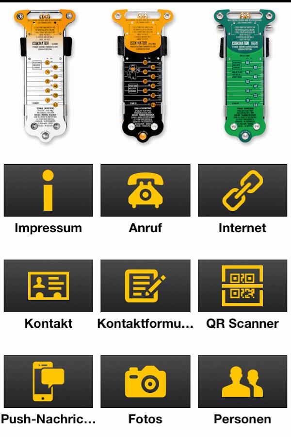 Isokinator - screenshot