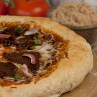 BBQ Bison Pizza