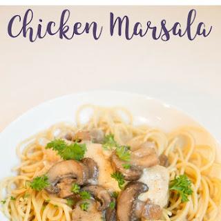 Instant Pot Chicken Marsala.
