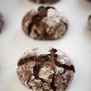 Chocolate Hazelnut Crackled Cookies Recipe