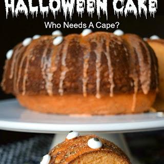Orange You Scared? Halloween Cake