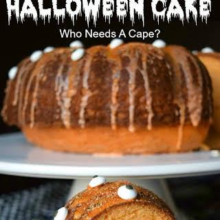 Orange You Scared? Halloween Cake.