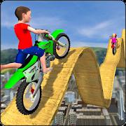 Kids Motorbike Stunts Master Roof Top Arena 2018