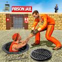US Police Grand Jail Break Prisoner Escape Games icon