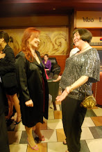 Photo: Gabriela Inreh (wife of new AYPO Music Director Daniel Spalding), Margaret Adams (AYPO Board President)