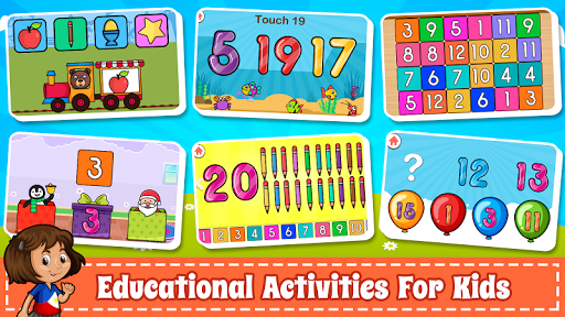 Learn Numbers 123 Kids Free Game - Count & Tracing 2.9 screenshots 15