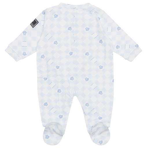 Thumbnail images of Young Versace Cotton Medusa Babygrow