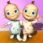 Talking Baby Twins - Babsy 1.28.0 Apk