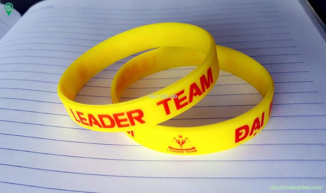 Vòng tay cao su - Leader Team 2018 tại Đà Nẵng