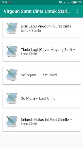 Download Lirik Lagu Virgoun Surat Cinta Untuk Starla
